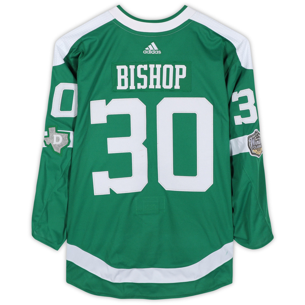 Ben Bishop Dallas Stars Game-Used 2020 NHL Winter Classic Jersey - Worn During First Period