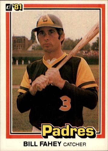 Photo of 1981 Donruss #361 Bill Fahey