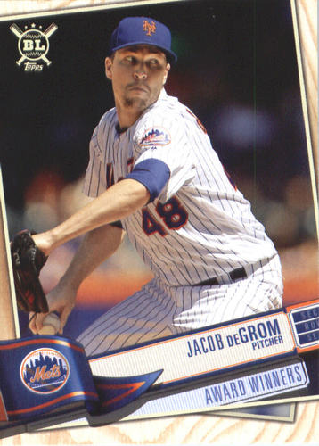 Photo of 2019 Topps Big League #383 Jacob deGrom