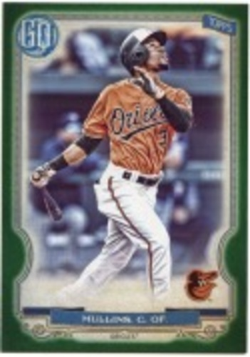 Photo of 2020 Topps Gypsy Queen Green #11 Cedric Mullins