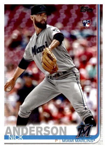 Photo of 2019 Topps Update #US145 Nick Anderson RC