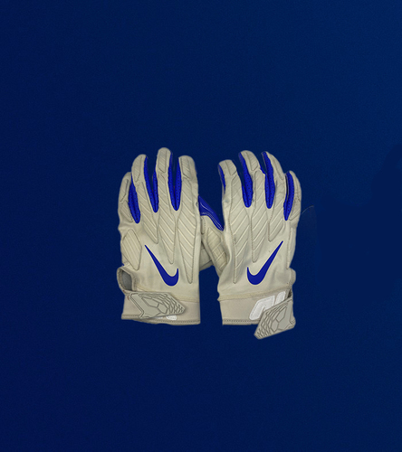 Photo of Aaron Donald Game Used Gloves - (1/3/2021 VS. Arizona Cardinals)