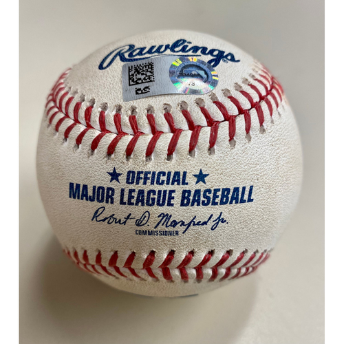 Photo of Game-Used Baseball:  Shohei Ohtani Los Angeles Angels Pitch (MLB AUTHENTICATED)