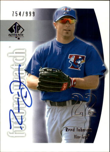 Photo of 2002 SP Authentic #138 Reed Johnson AU RC