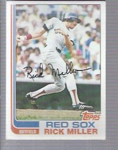 Photo of 1982 Topps #717 Rick Miller