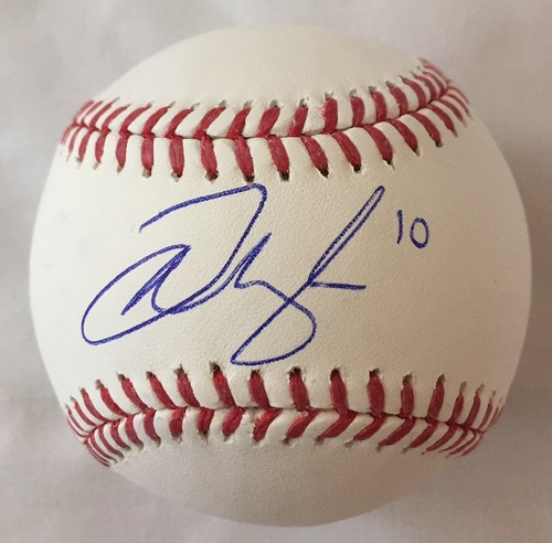 Photo of Josh Naylor Autographed Baseball