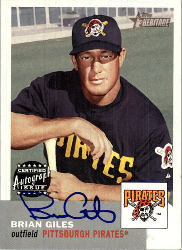 Photo of 2002 Topps Heritage Real One Autographs #ROBG Brian Giles 5