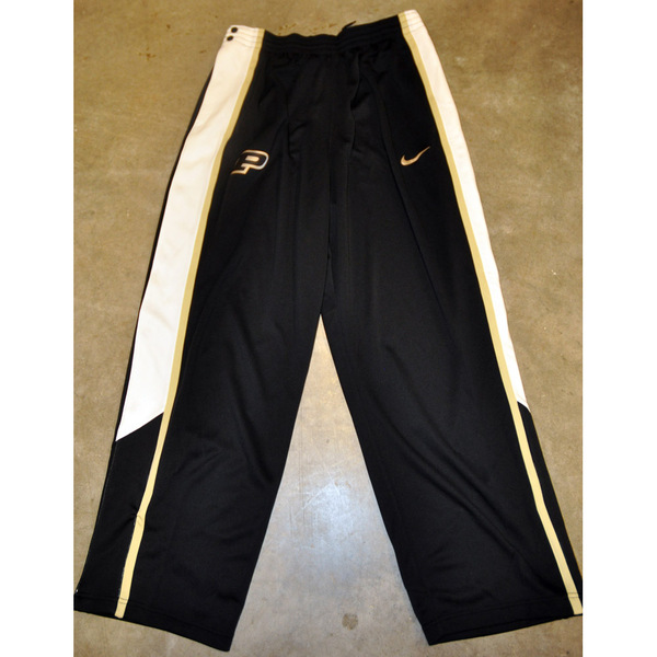 Photo of Men's Basketball Nike Team-Issued Tear-Away Pants // Black, Gold, White // Size 2XL