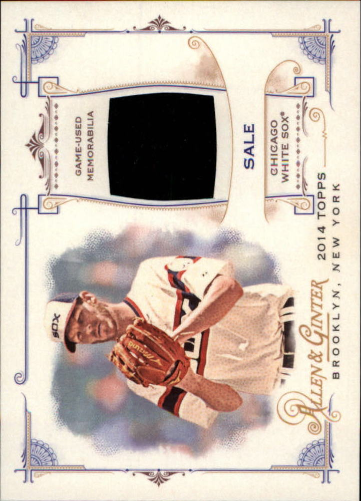 2014 Topps Allen and Ginter Relics  Chris Sale