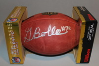 NFL - BRONCOS GARRETT BOLLES SIGNED AUTHENTIC FOOTBALL