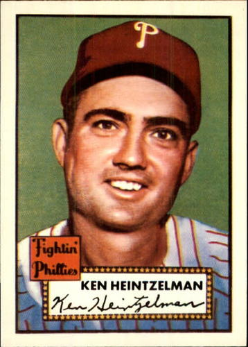 Photo of 1983 Topps 1952 Reprint #362 Ken Heintzelman