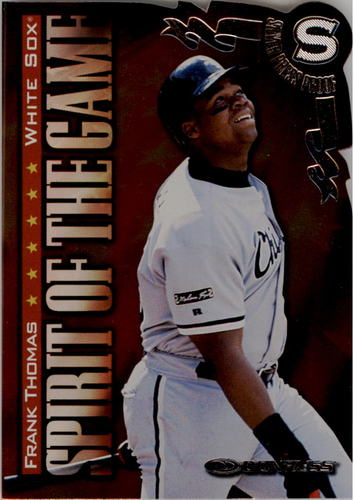 Photo of 1998 Donruss Silver Press Proofs #407 Frank Thomas SG