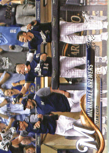 Photo of 2018 Topps #156 Milwaukee Brewers