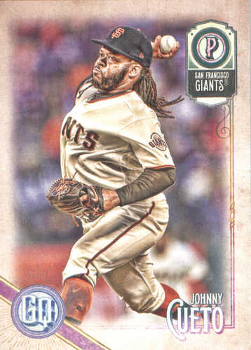 Photo of 2018 Topps Gypsy Queen #20 Johnny Cueto