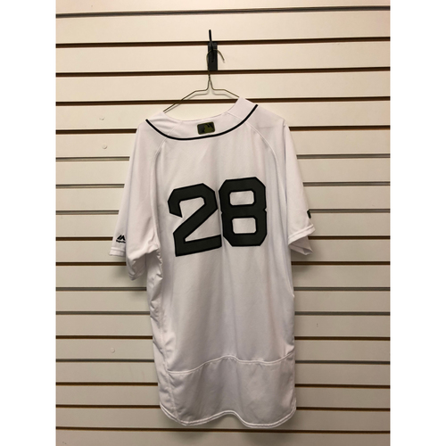 Photo of JD Martinez Game Used May 26, 27 & 28, 2018 Memorial Day Home Jersey - Home Run, 2 RBIs