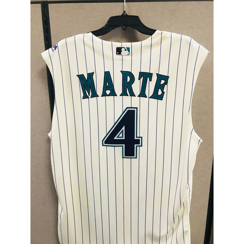 Photo of 2017 Ketel Marte Game-Used Jersey