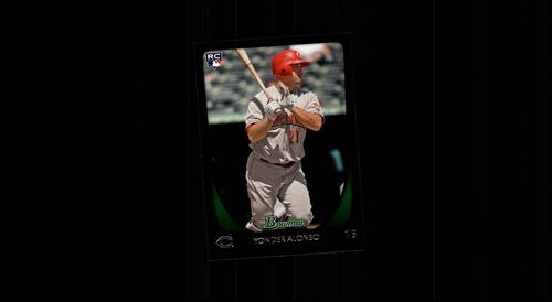 Photo of 2011 Bowman #210 Yonder Alonso -- Rookie Card