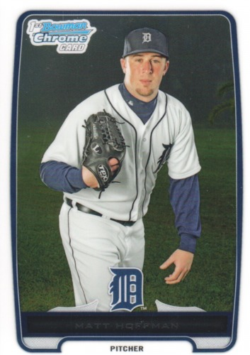Photo of 2012 Bowman Chrome Prospects #BCP204 Matt Hoffman