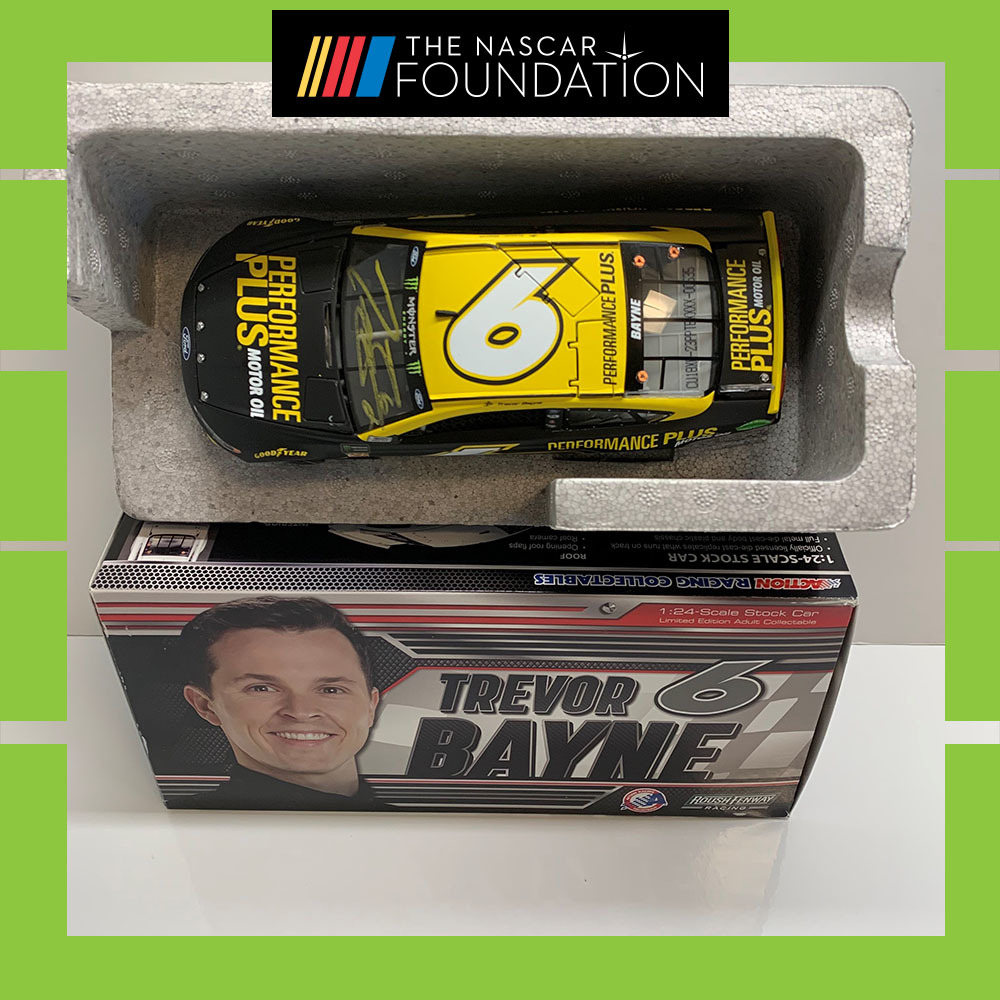 NASCAR's Trevor Bayne autographed Performance Plus Diecast!