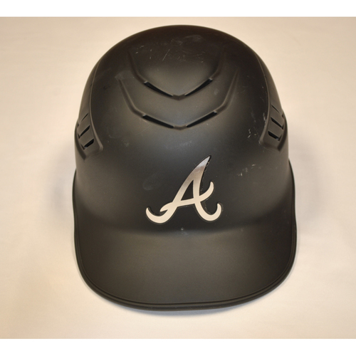 "Photo of Ron ""SWEEET"" Washington Atlanta Braves Game-Used 2019 Players' Weekend Coach's Helmet"