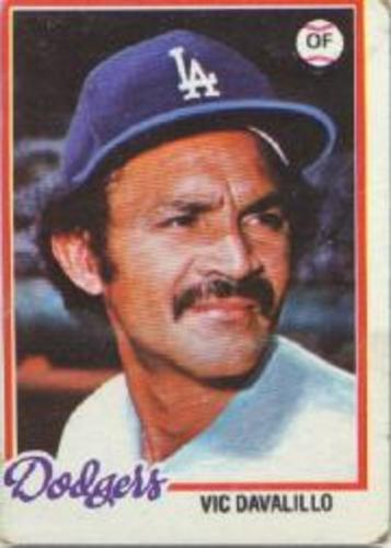 Photo of 1978 Topps #539 Vic Davalillo DP