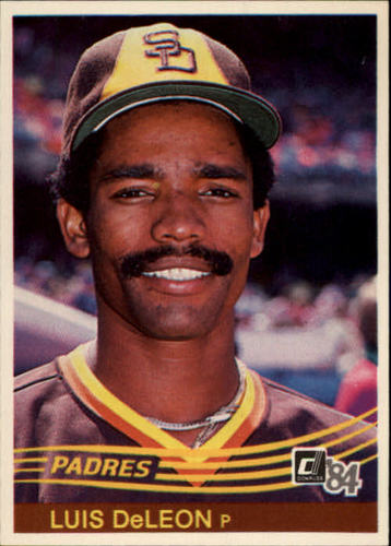 Photo of 1984 Donruss #162 Luis DeLeon