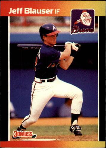 Photo of 1989 Donruss #592 Jeff Blauser