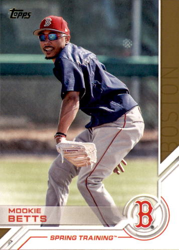 Photo of 2017 Topps Salute #S183 Mookie Betts