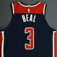 Bradley Beal - Washington Wizards - Game-Issued Statement Edition Jersey - 2019-20 NBA Season