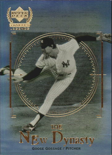 Photo of 2000 Upper Deck Yankees Legends New Dynasty #ND4 Goose Gossage