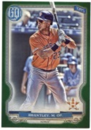 Photo of 2020 Topps Gypsy Queen Green #16 Michael Brantley