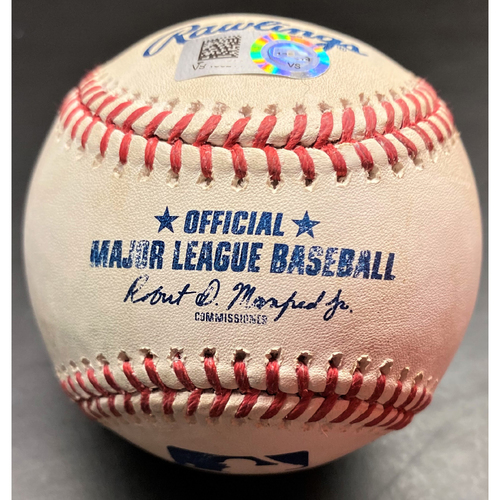 Photo of Game-Used Baseball: Jonathan Schoop Detroit Tigers Grand Slam Home Run (MLB AUTHENTICATED)