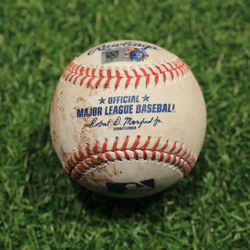 Photo of Game-Used Baseball: Willi Castro 67th Career Hit (9/25/20 DET @ KC)