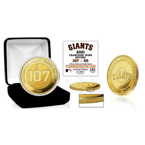 Photo of San Francisco Giants Franchise Wins Record Gold Mint Coin