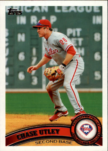 Photo of 2011 Topps #214 Chase Utley