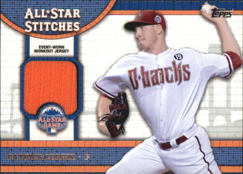 Photo of 2013 Topps Update All Star Stitches #PC Patrick Corbin