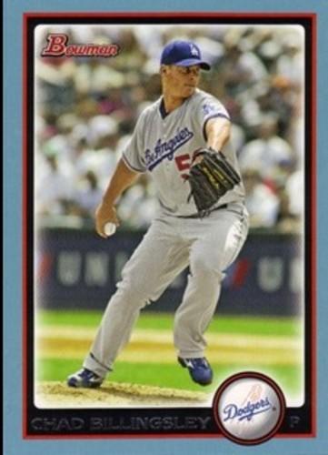 Photo of 2010 Bowman Blue #69 Chad Billingsley