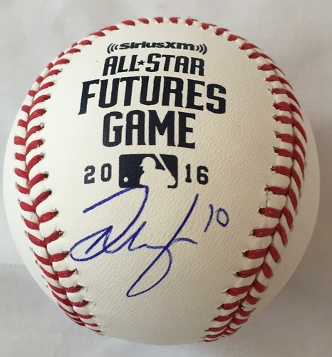 Photo of Josh Naylor Autographed 2016 Futures Baseball