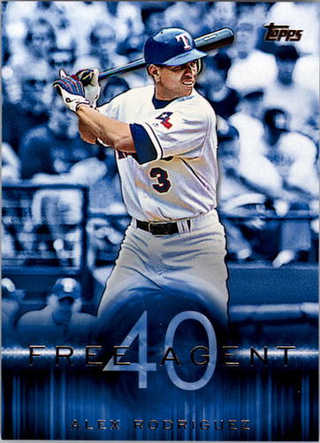 Photo of 2015 Topps Free Agent 40 #F409 Alex Rodriguez