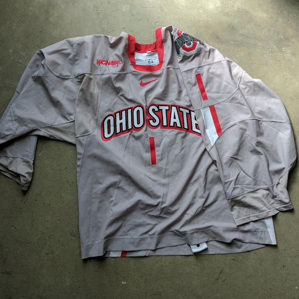Photo of Ohio State Women's Ice Hockey Jersey (#1)