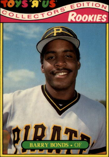 Photo of 1987 Toys R Us Rookies #4 Barry Bonds