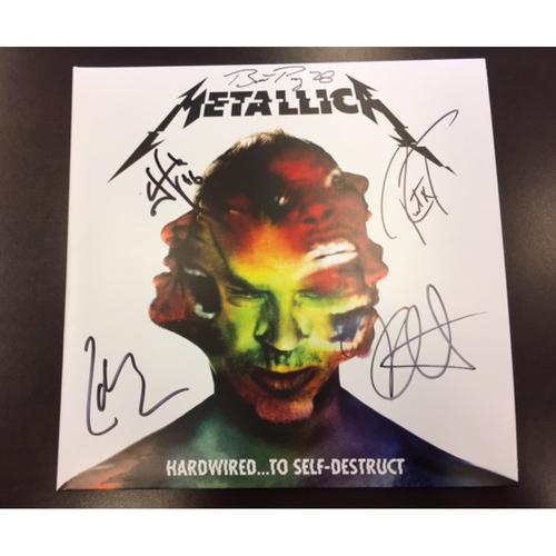 Giants Metallica Auction: Posey & Metallica Signed