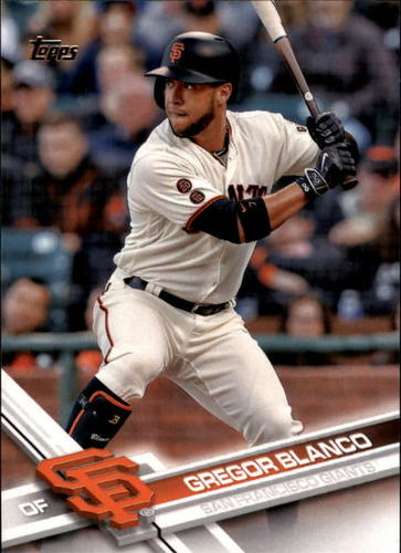 Photo of 2017 Topps #47 Gregor Blanco