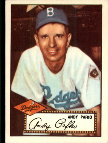 Photo of 1983 Topps 1952 Reprint #1 Andy Pafko