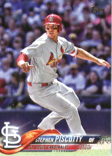 Photo of 2018 Topps #158 Stephen Piscotty