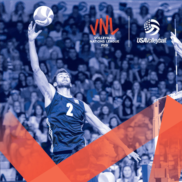 Clickable image to visit Men's Volleyball Nations League, June 16th