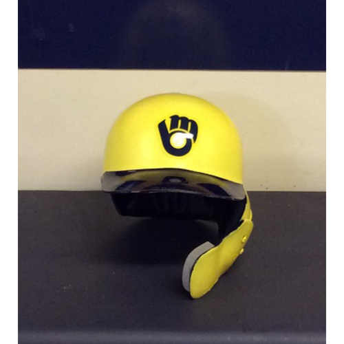 "Photo of Orlando ""El Niño"" Arcia Game-Used 2018 Players Weekend Batting Helmet - 15th Inning, Game-Winning RBI Single (08/24/18)"