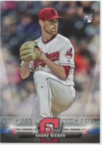 Photo of 2018 Topps Update Salute #S34 Shane Bieber