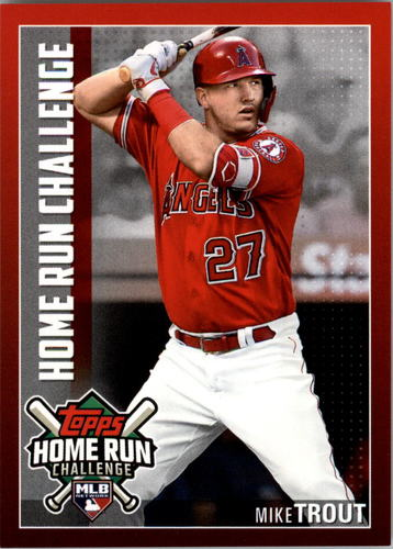 Photo of 2019 Topps Home Run Challenge #HRC1 Mike Trout