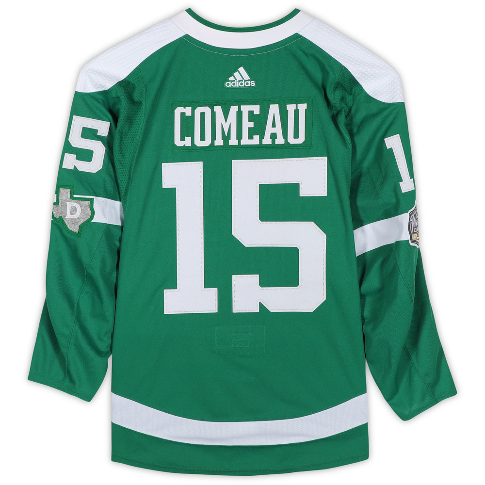 Blake Comeau Dallas Stars Game-Used 2020 NHL Winter Classic Jersey - Worn During First Period